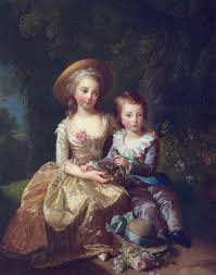 2 children of marie antoinette 1785