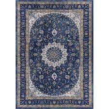 luxbury mahal traditional vintage persian oriental blue 9 ft 3 in x 12 ft