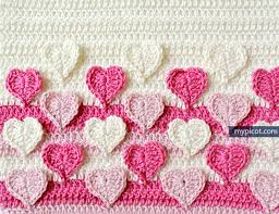 Heart Crochet Pattern Magnificent MyPicot Crochet Patterns