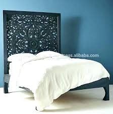 white carved headboard white carved headboard rustic wooden high headboard carved headboard double bed high