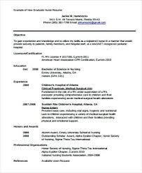 Resume Examples Of Objectives Nursing Resume Objective Sample
