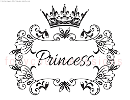 Small Picture Coloring Download Coloring Pages Of Crowns Coloring Pages Of