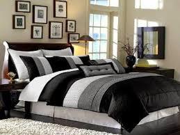black and cream bedding ideas