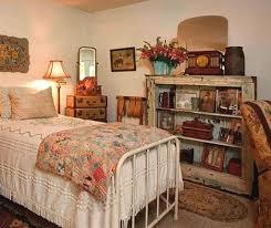 Bedroom Vintage Home Decor For Bedroom Using White Iron Bed Frame