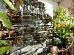 an indoor waterfall indoor waterfall