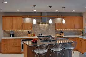 image modern kitchen lighting. View In Gallery Elegant Modern Kitchen With Lovely Pendant Lighting And An Oriental Touch Image I