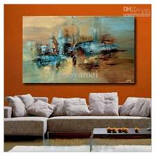 2018 handmade large modern abstract oil painting wall art on with regard to large framed abstract on huge framed wall art with 15 best ideas large framed abstract wall art wall art ideas