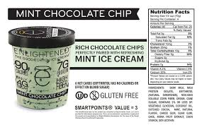 enlightened has more calories in it but if you actually just ate it one serving at a time it would be 100 calories or less which is not bad