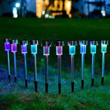 Đèn LED trang trí nhiều màu cắm sân vườn hành lang dùng năng lượng mặt trời  loại nhiều màu - P411199 | Sàn thương mại điện tử của khách hàng Viettelpost