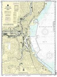 Milwaukee Die Chart Details About Noaa Chart Milwaukee Harbor 29th Edition 14924
