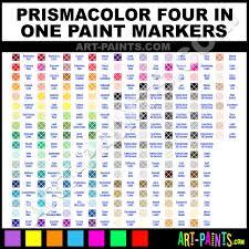 Prismacolor Markers Color Chart Spearmint Four In One Paintmarker Marking Pen Paints 195