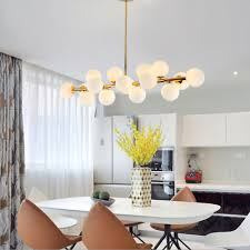 <b>Post</b>-<b>Modern</b> Ceiling Light LED Chandelier <b>Pendant</b> Lamp <b>DNA</b> ...