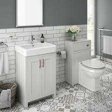 sworth traditional grey sink vanity