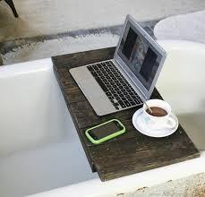 pallet bathtub tray