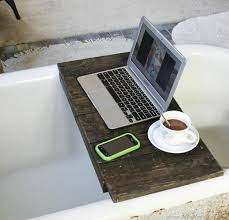 pallet bathtub tray