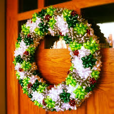 Our Crafty Home | Christmas Bow Wreaths