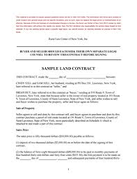 Land Contract Template: Free Download, Create, Edit, Fill And Print ...