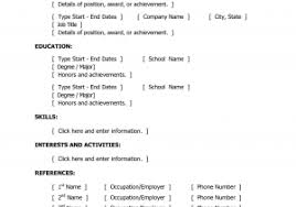 Macbook Pro Resume Template Resume Templates Forges Free