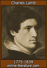 charles lamb biography and works search texts online hi ppl