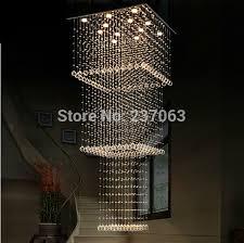nice modern design chandelier free wholes large square crystal chandelier modern