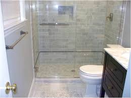 small bathroom flooring. Inspiring Bathroom Decoration Using Modern Tile Shower Wall : Fair Picture Of White Small Flooring