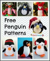 Penguin Crochet Pattern Simple Decorating