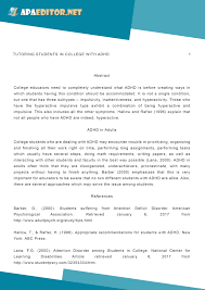 Apa 6 Sample Paper Pin By Apa Es On Research Paper E Pinterest Writing An