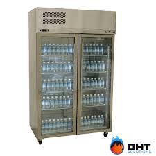 williams pearl star hps2gdss double glass door fridge stainless steel dht solutions