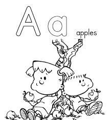 Alphabet Coloring Pages Printable Letter A | Alphabet Coloring ...