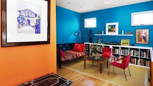 Orange And Blue Living Room Orange And Blue Interior Design Ideas Opposites Attract Youtube