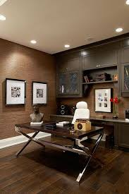 home office wallpaper. Grasscloth Wallpaper - Love These Colors Warm And Cozy Home Office