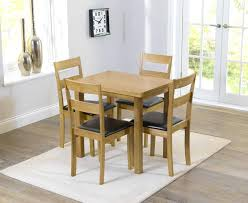 cream kitchen table and chairs garage trendy oak dining table 4 chairs x oak round dining