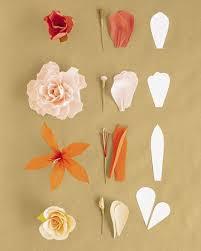 Martha Stewart Paper Flower How To Make Crepe Paper Flowers Single Petal Method Via Martha
