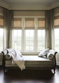Living Room Bay Window Designs Splendid Bay Window Seat Design Inspiration With Beautiful Curtain