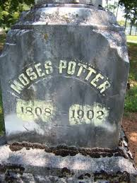 Moses Potter (1808-1902) - Find A Grave Memorial