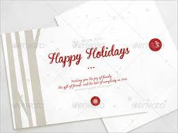 Happy Holiday Card Templates 16 Holiday Card Templates Psd Ai Free Premium Templates