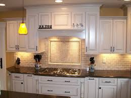 kitchen backsplash ideas white cabinets. Top 55 First-class Kitchen Backsplash Ideas With White Cabinets Recessed Lighting And Drum Pendant Good Design Nice Tile Cream Countertop Black Stove Glass