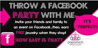 top tips for paparazzi facbook parties