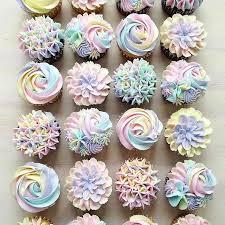 Unicorn Buttercream Cupcakes Baking In 2019 Buttercream