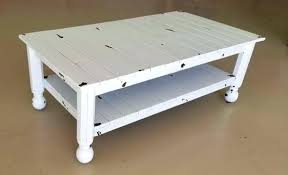 coffee table shabby chic image 0 round white shabby chic coffee table