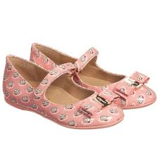 salvatore ferragamo mini girls pink patent leather frog print shoes childrensalon
