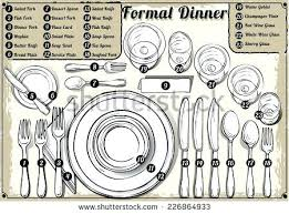 formal table settings. Dinner Table Setting Etiquette Place Formal Informal Mat Placement Plate Napkins . Settings T