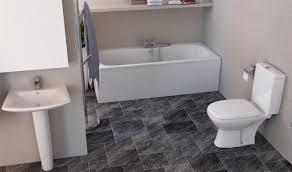 Bathroom Suites Ebay Elizabeth Modern Bathroom Suite White Bath Toilet Sink Basin