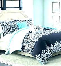 damask bedding sets blue set black and white 5 piece comforter from pink quilt silver tesco