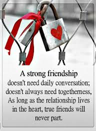 Quotes About Strong Friendship Impressive Friendship Quotes A Strong Friendship Doesn't Need Daily