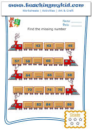 Write The Missing Number - 3 Archives - Teaching My Kid