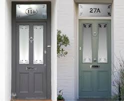 etched glass panel front door
