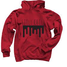 Still chill - Flamingo - Albertsstuff hoodie