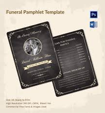 5 Funeral Pamphlet Templates - Word, Psd Format Download | Free ...