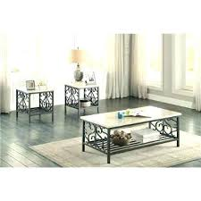marble table set for living room